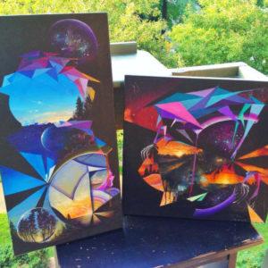 Dan Hampe Paintings