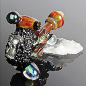 Functional Glass Monkey and Opal